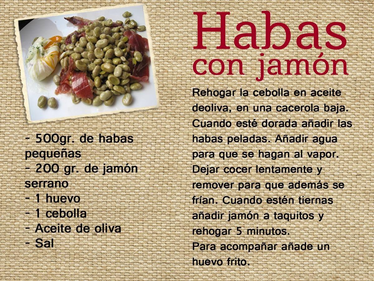 Hoy os mostramos como hacer la t pica receta granadina de for Cocinar habas con jamon
