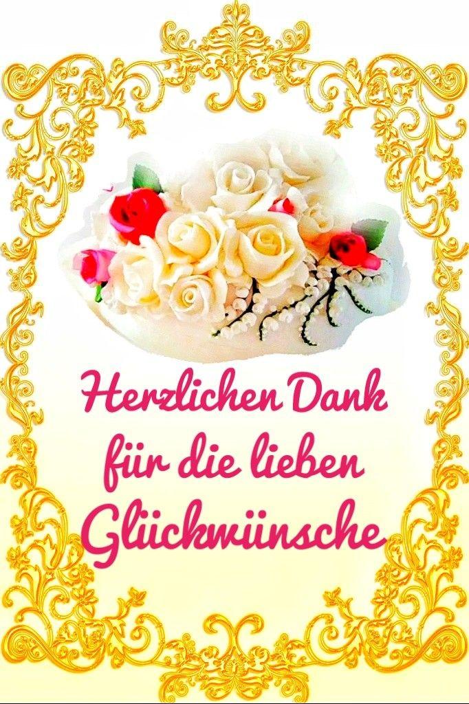 Geburtstagswünsche dankeschön Dankeschön für