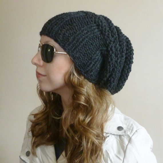 061f5db5aa8 THE MEGA HIVE Slouchy Beanie Slouchy Hat Knitted by BoPeepsBonnets ...