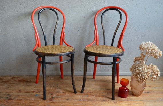 Chair Bistro Thonet Wood Curved Flesh Parisian Belle Epoque Bohemian Upcycling Paris English Bentwood Furniture Bistro Ch Chair Bistro Chairs Chair Decorations