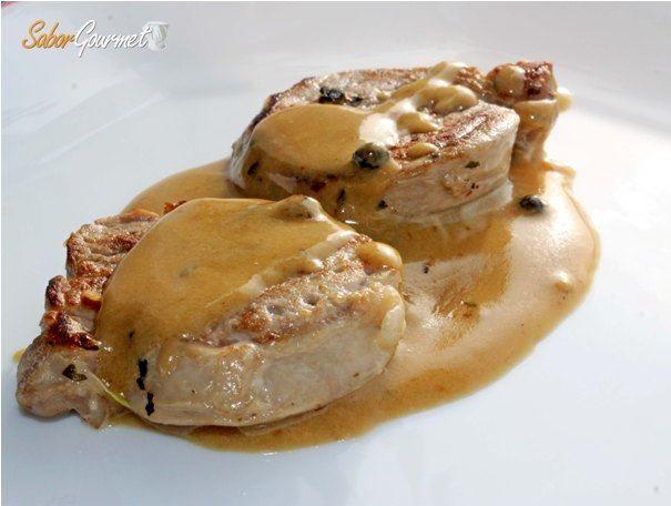 Solomillo Con Salsa De Pimienta Receta Fácil Saborgourmet Com Receta Recetas Fáciles Salsa De Pimienta Recetas Para Cocinar