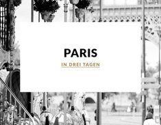 In diesem Blogartikel verrate ich euch meine zehn Paris Tipps für einen Kurztrip in die französische Hauptstadt.