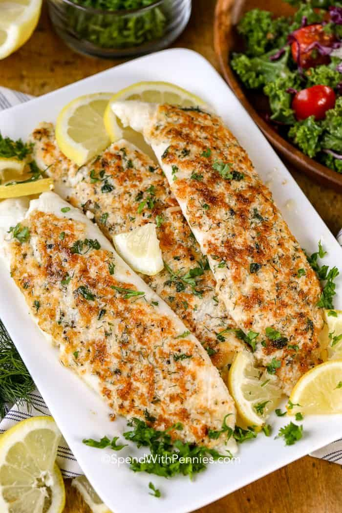 Tasty Tilapia Recipes For Lunch or Dinner images