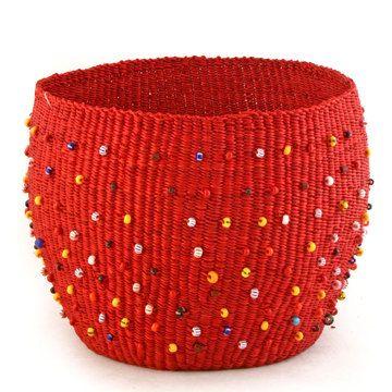 Beachcomber Basket Red