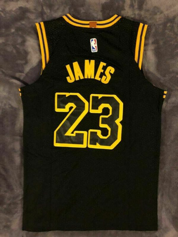 Nwt Lebron James 23 Los Angeles Lakers Men S Black Mamba Basketball Jersey Jerseys For Cheap Nba Outfit Basketball Jersey Black Mamba Basketball