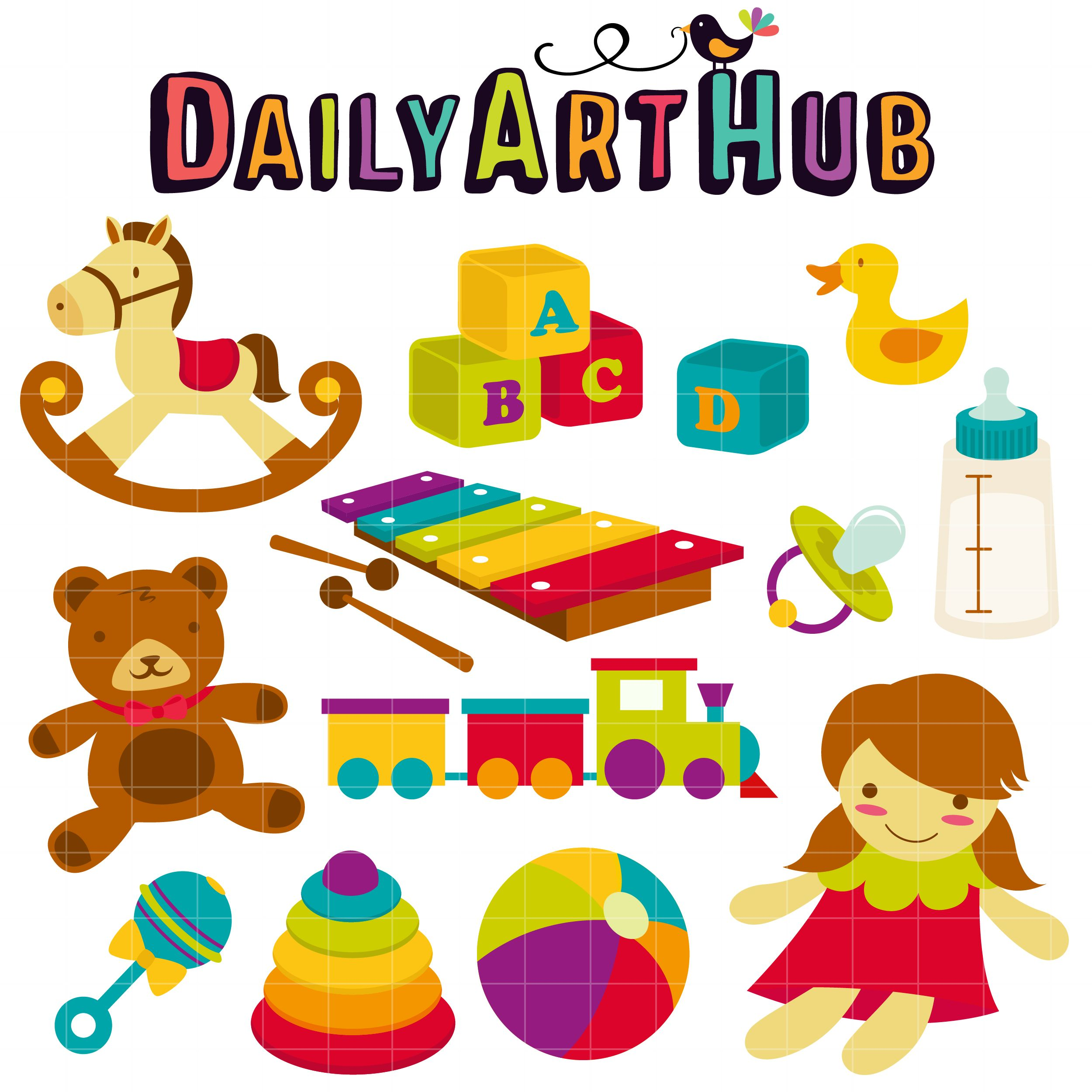Baby Toys  Available for FREE today only   clip art