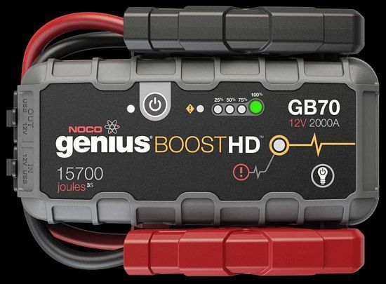 Best Portable Car Battery Jump Starter 2017 Review Of Noco Genius