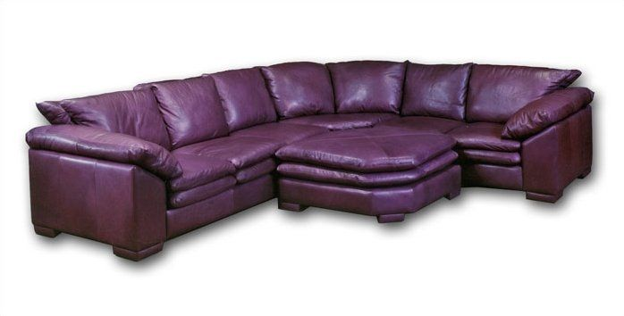 Tremendous Fargo Leather Sectional With Ottoman In 2019 Furniture Pabps2019 Chair Design Images Pabps2019Com