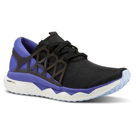 Reebok Floatride Run Flexweave Mens Running Shoes Black   eBay