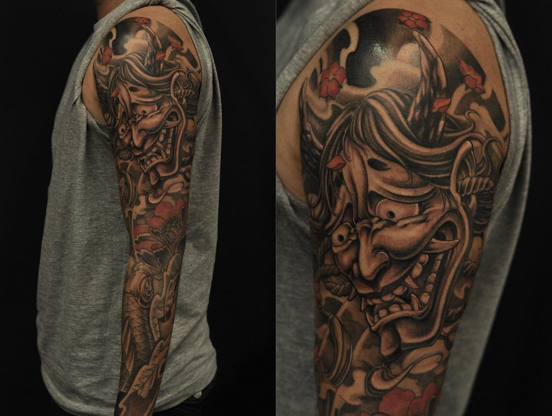 Chronic ink tattoos toronto tattoo full sleeve by bks