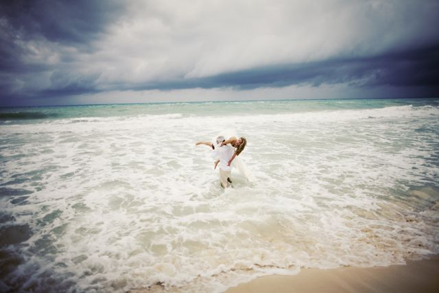 Beach Wedding Water