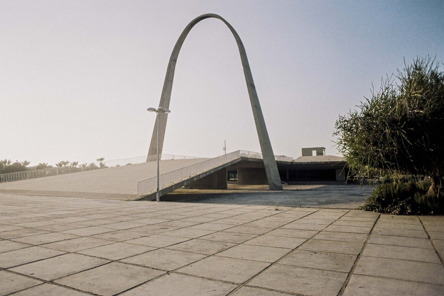 ba0244d9a27228 See Oscar Niemeyer s Unfinished Architecture for Lebanon s International  Fair…