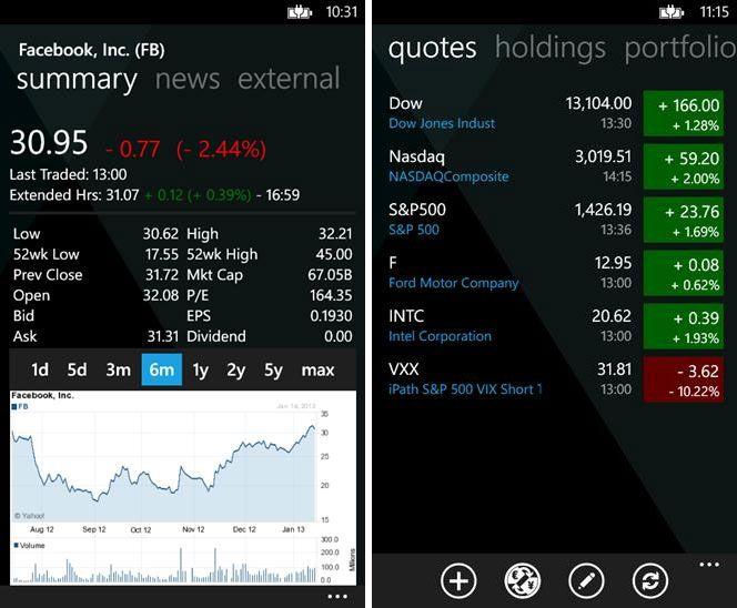 My Stocks Portfolio App … | Download Free Mobile Application