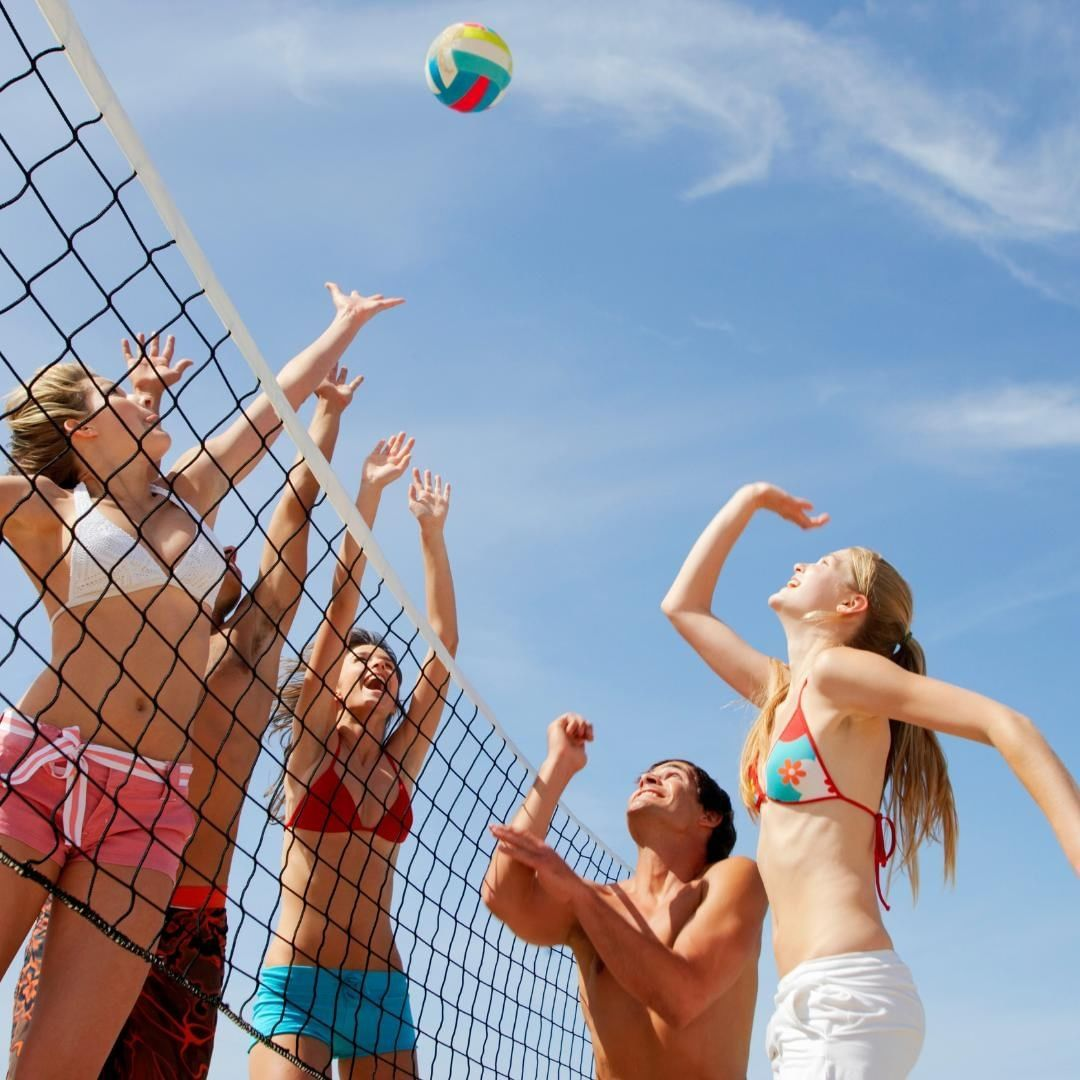 Happy Friday Now That The Days Are Getting Warmer We Hope You Get Outside And Play Fu In 2020 Volleyball Set Volleyball Workouts Volleyball Training