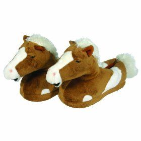 cuddly and cute horse slippers!  0dff2ba83920