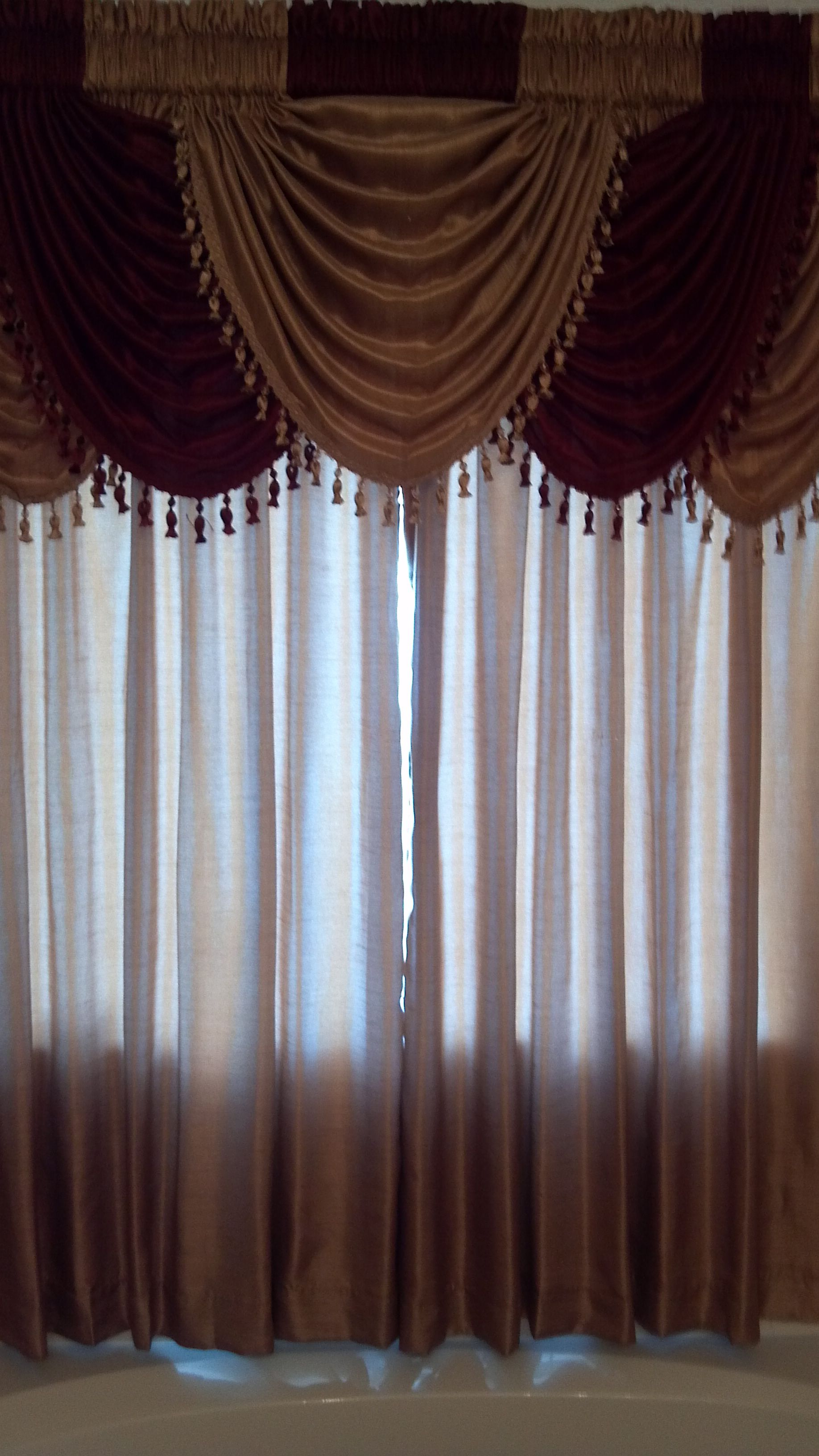 Annas Linens Annabella Faux Silk Curtains