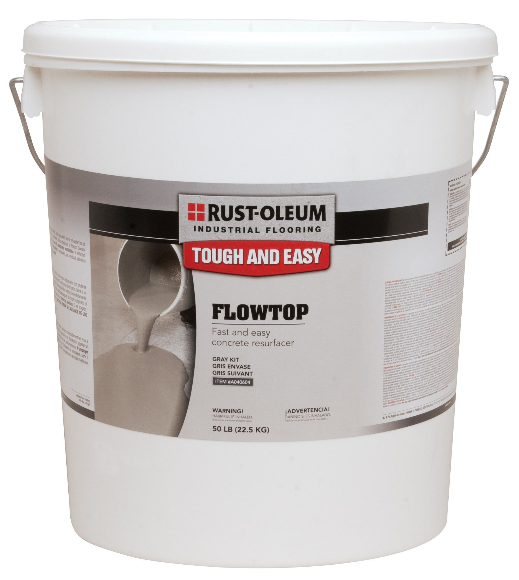 Flowtop Concrete Resurfacer High Strength Self Leveling Compound