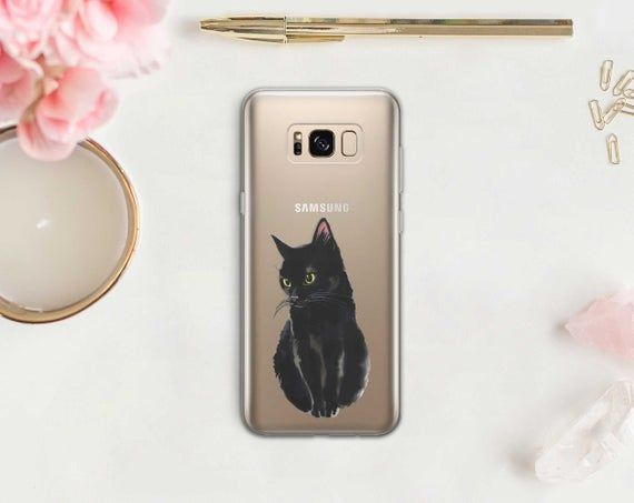 Cute Cat Samsung Galaxy S10 Plus Case Fluffy Kitten Galaxy S10 | Etsy