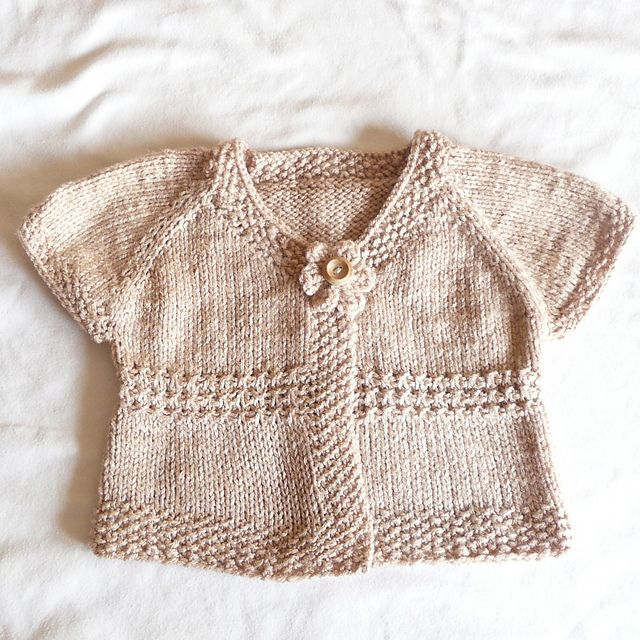 c53274e0e Emma - an everyday seamless cardigan pattern by Katy Farrell | baby ...