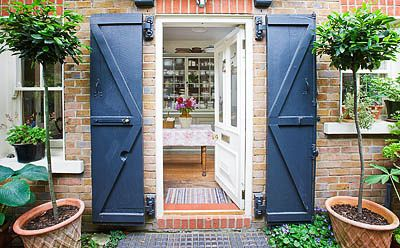 Artists London home and garden