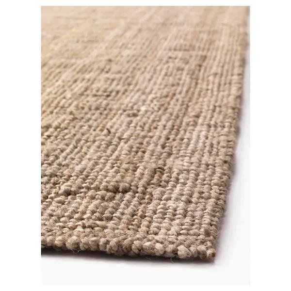 lohals teppich flach gewebt natur