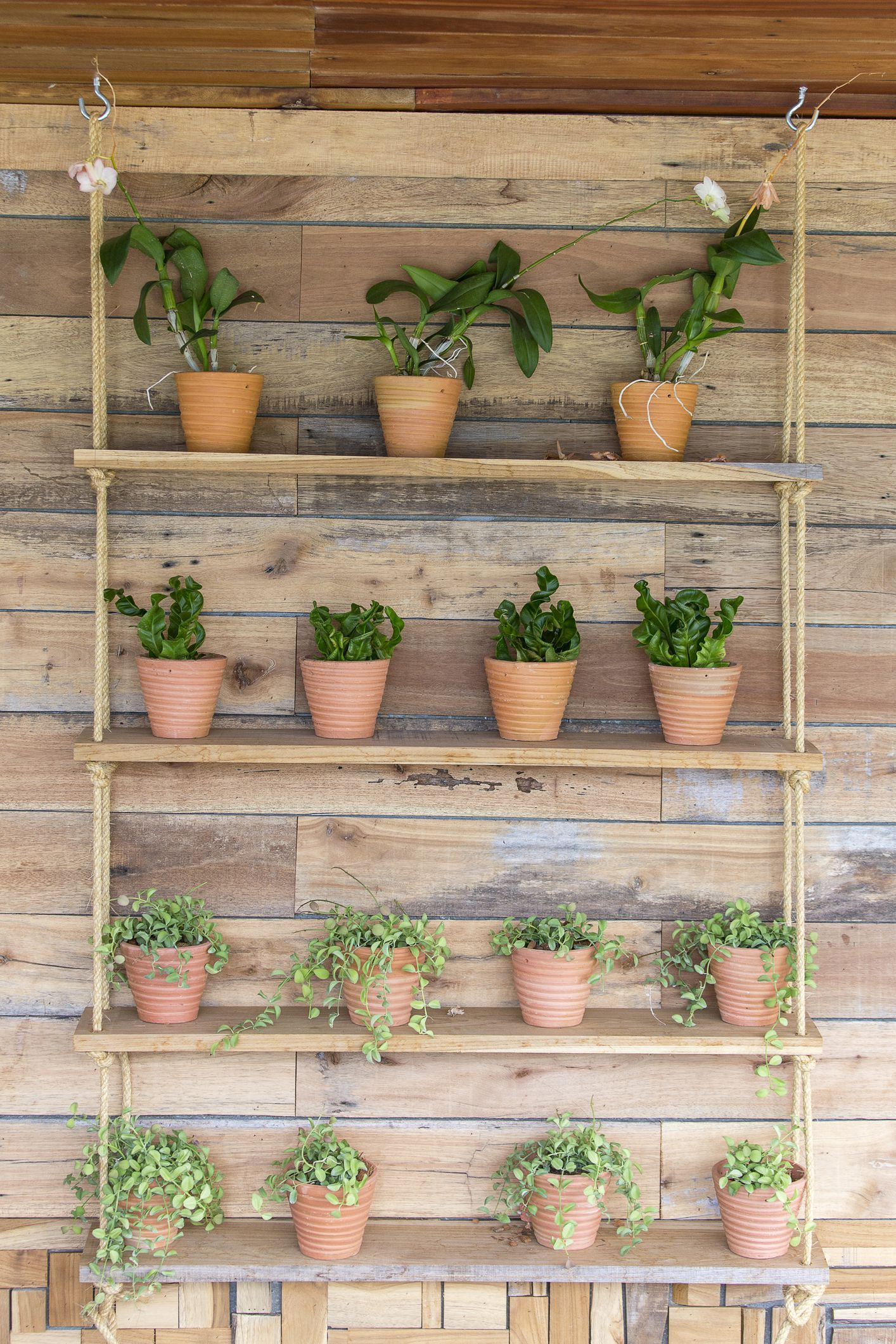City and indoor gardens are trending on Pinterest right now is part of Vertical garden City - From green dining to hanging balcony plants