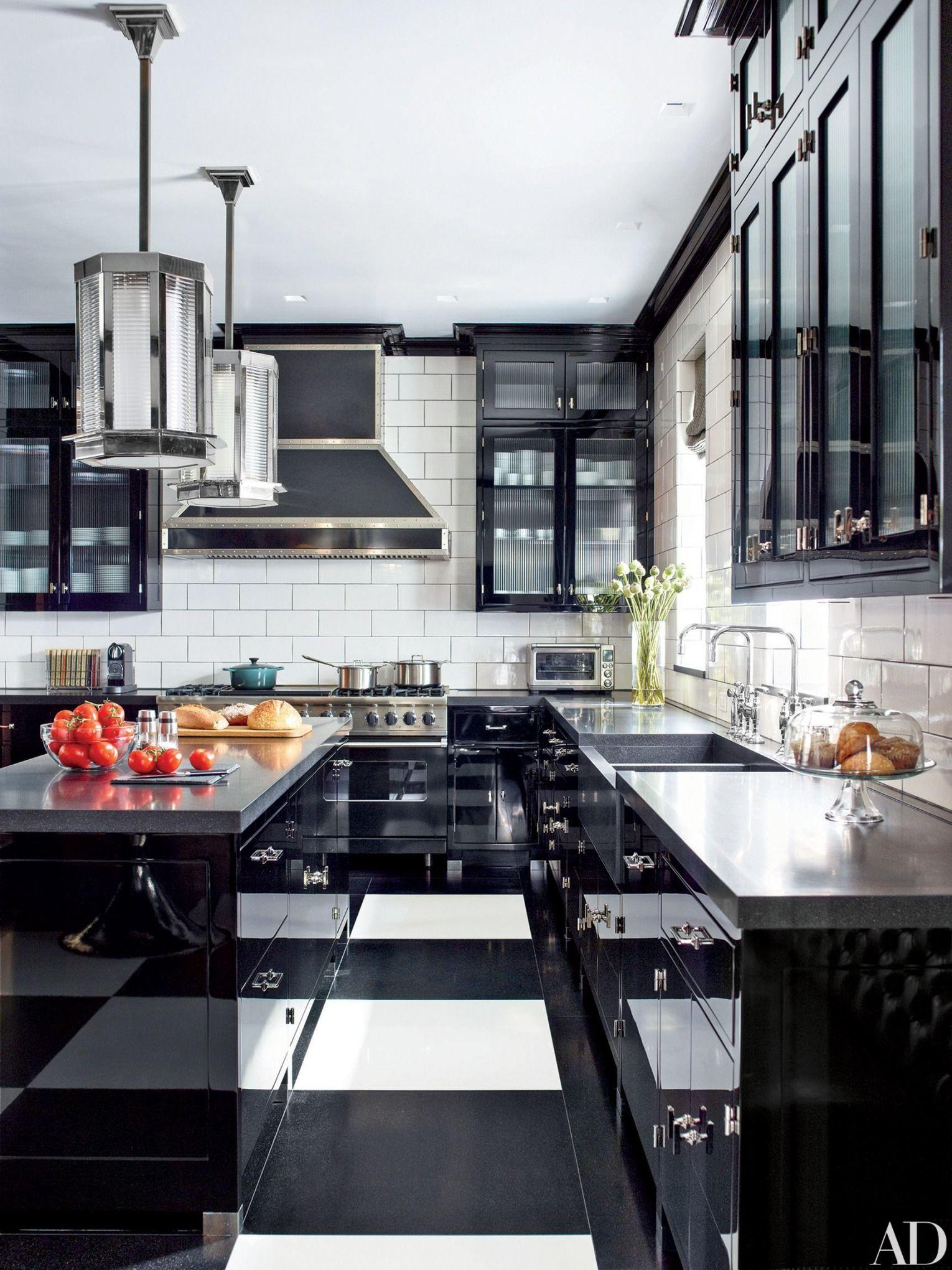 9 Rooms Inside Of Ad S Most Stunning Duplex Apartments Interior Design Kitchen Kitchen Design Kitchen Flooring