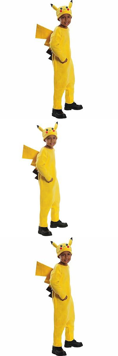 Boys 80913 Deluxe Pokemon Pikachu Child Halloween Costume -u003e BUY IT NOW ONLY  sc 1 st  Pinterest & Boys 80913: Deluxe Pokemon Pikachu Child Halloween Costume -u003e BUY IT ...