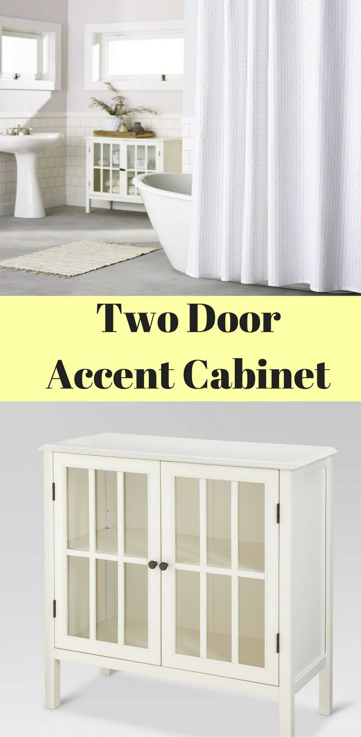 Threshold Windham 2 Door Accent Cabinet - This is cute accent piece ...