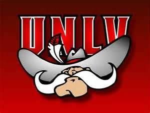 NCAA UNLV Framed Logo Mirror