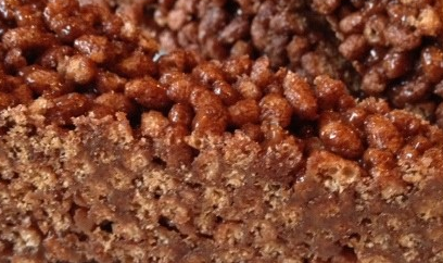 ⇒ Bimby, le nostre Ricette - Bimby, Barrette di Cioccolato e Riso Soffiato