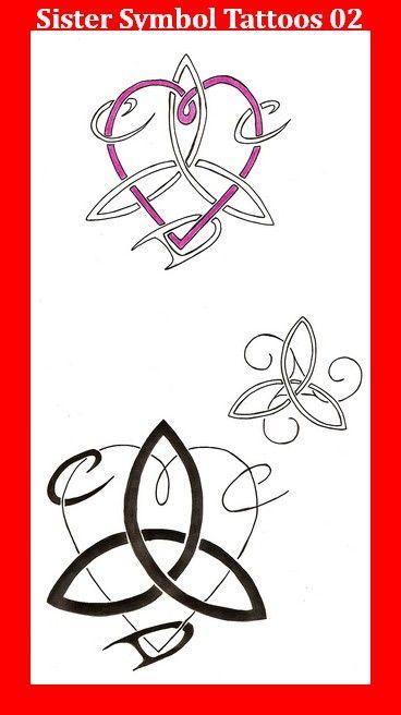 Sister Symbol Tattoos 02 Really Me Pinterest Sister Symbol