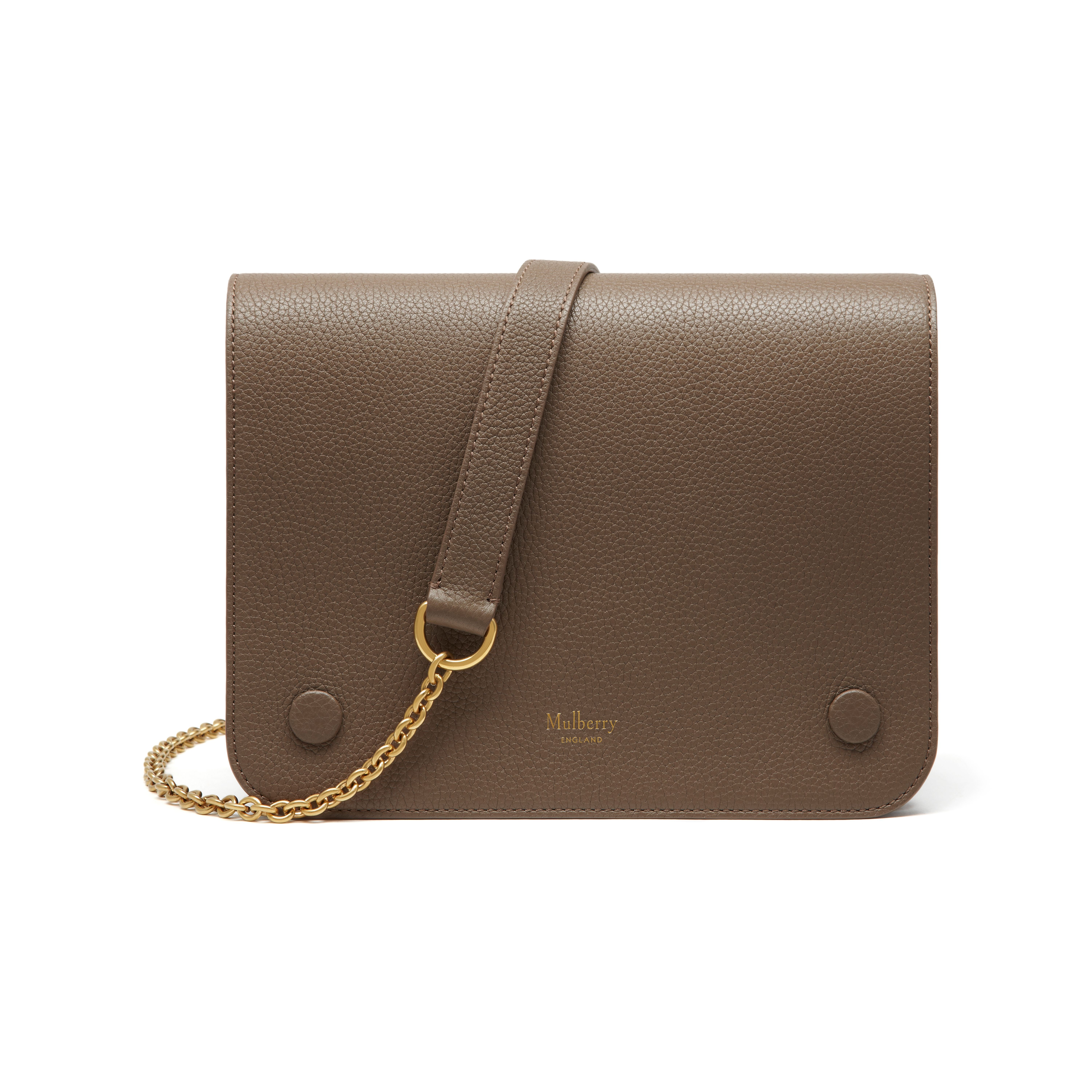 8fcbe79b27 Shop the Clifton in Clay Small Classic Grain at Mulberry.com. Introducing  the Clifton, a new compact, cross body style that cleverly camouflages an  ...