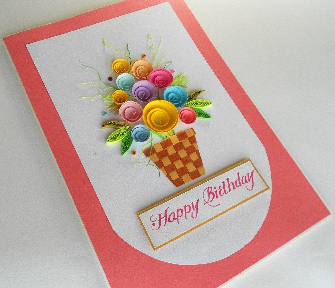 Handmade Birthday Greeting Card Online Shopping With Images