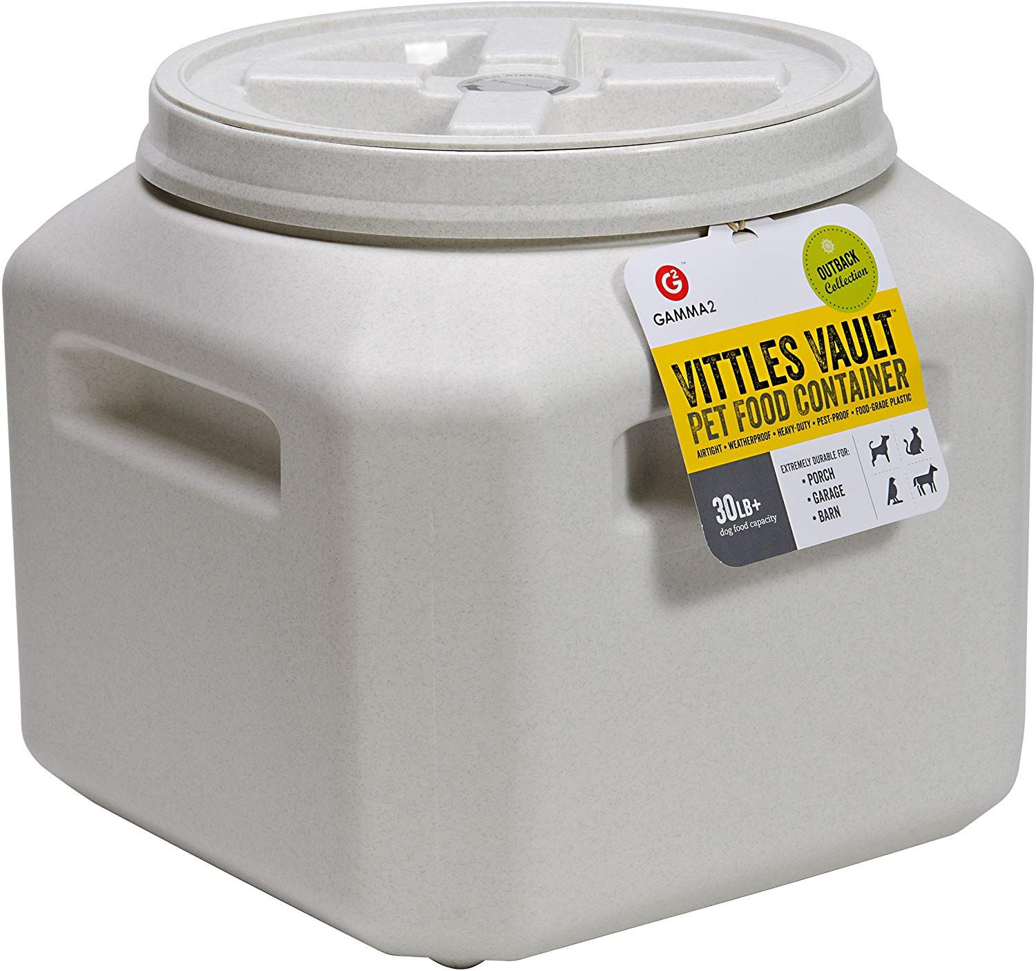 Vittles Vault 30 Pound Stackable Details Can Be Found By