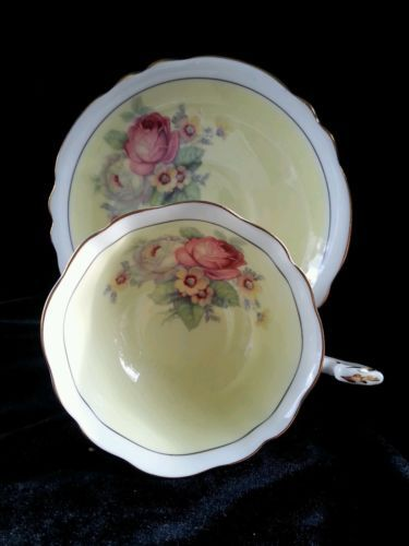 Vintage Paragon Fine Bone China TEA CUP AND Saucer H M THE Queen Queen Mary | eBay #teacups