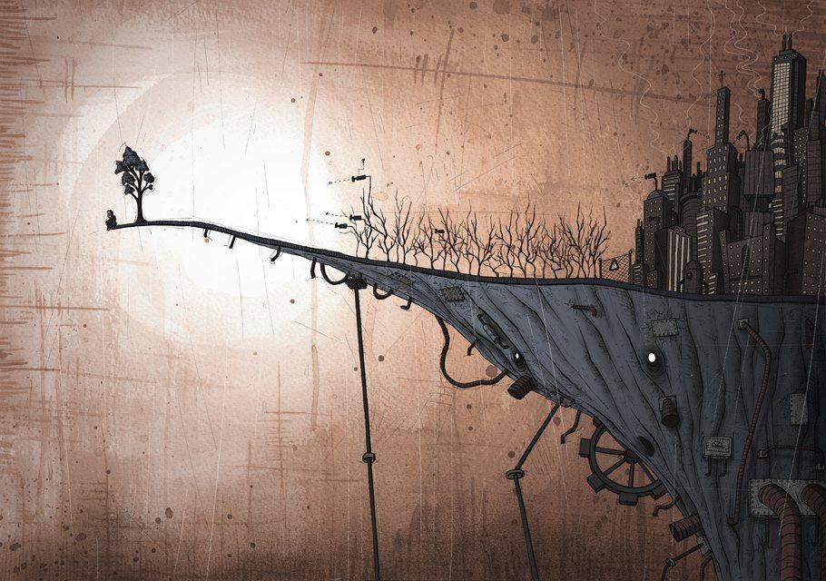 Ninguém vive isolado do mundo,  mas existem momentos  que a solidão é bem oportuna.