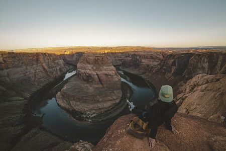 Photo by Joel Bear — Horseshoe Bend, Unites States