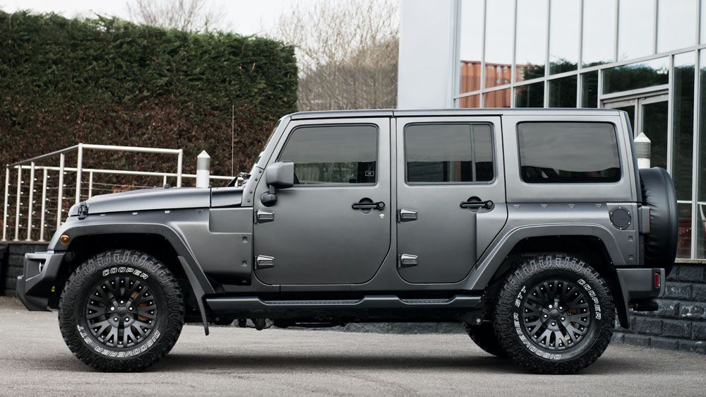 The Chelsea Jeep Wrangler Black Hawk Edition is Indulgent