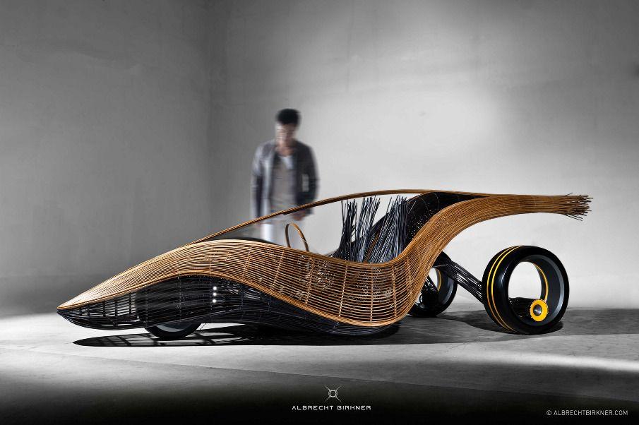 Araba Fenice, l'auto è di bambù