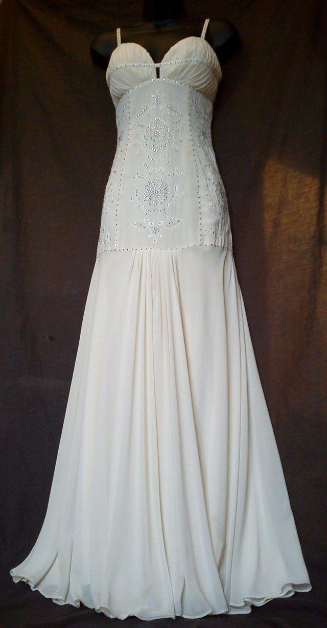 Amanda wakeley ss art deco vintage style designer wedding