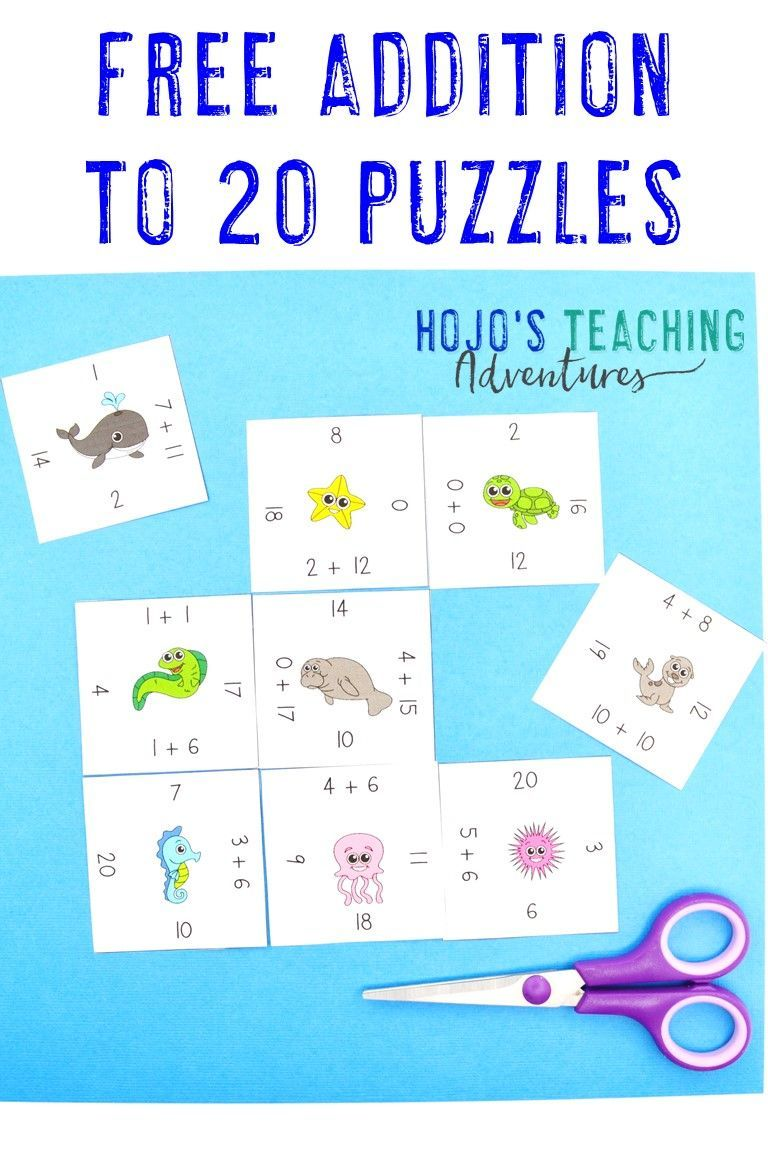 FREE Magic Square Puzzles HoJo's Teaching Adventures in