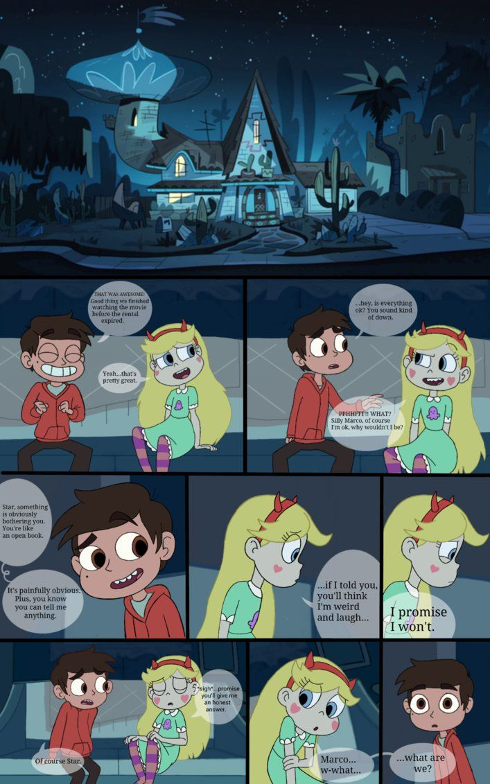 page 1 what are we starco fan comic by bakajager jessica starco