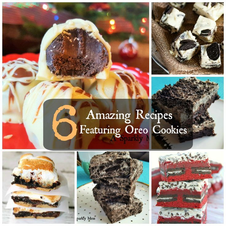 Oreo Cookies are definitely up there on my favorites list. There is so much you can do with them because they are amazing in almost everything. Here are 6 Amazing Oreo Recipes. You will love these new ways to eat Oreo's. You are welcome.