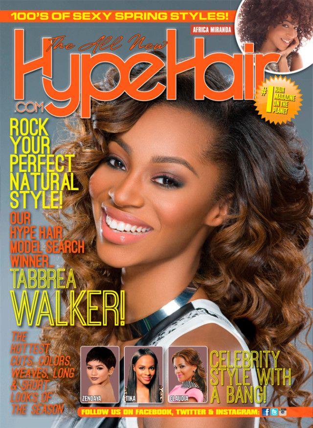 Tabbrea Walker selected from Cynthia Bailey/Hype Hair model ...