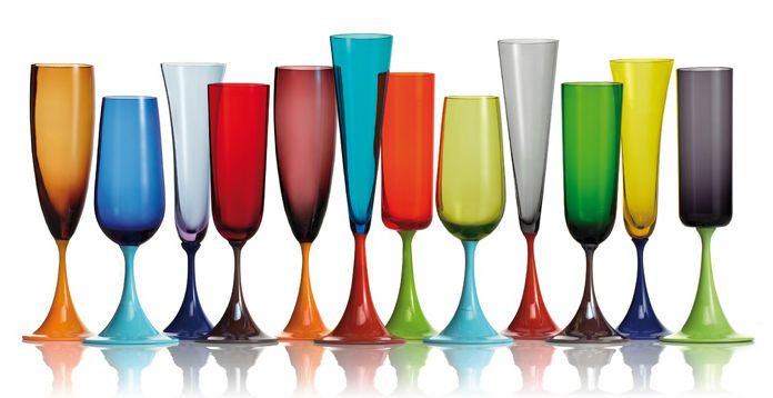 7fe75ed67b369 Guepiere Champagne Flutes by Nason Moretti   Pretty Things   Modern ...