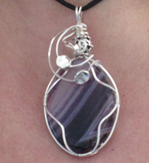 Wire Wrapping With Stone Or Cabochon (With