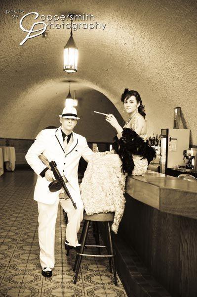 1920s Gangster Wedding