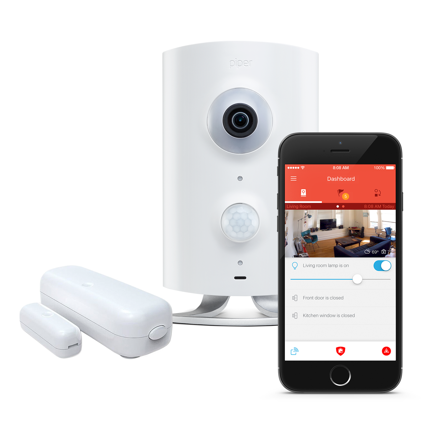 The Best Wi Fi Home Or Office Wireless Security Camera Home Automation System Piper Wireless Home Security Home Security Systems Wireless Security Cameras