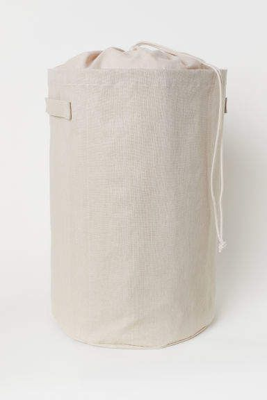 Ramie Blend Laundry Bag Laundry Bags Plastic Coating